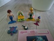 Playmobil Familie mit Muschelkinderwagen