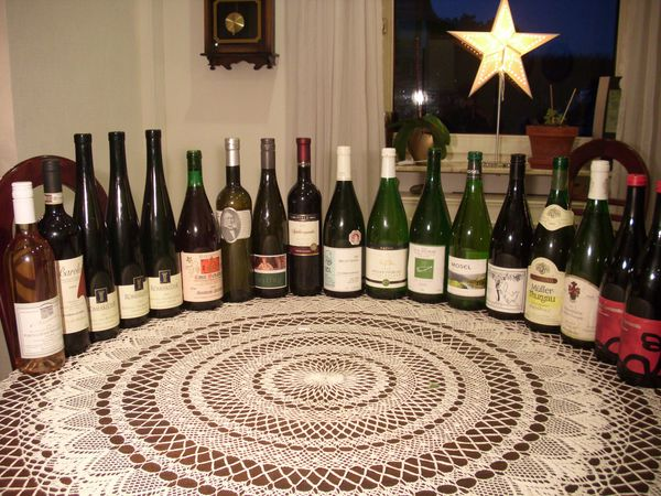 Große Sammlung Wein und SEKT
