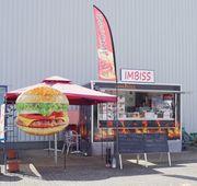 Imbisswagen Imbissanhänger Food Truck mit