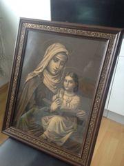 Antikes Heiligenbild