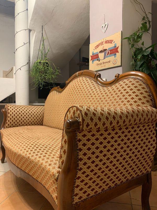 Sofa - Biedermeier Chippendale Style
