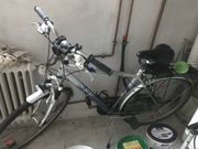 Verkaufe Herren Fahrrad mit Halterung