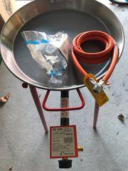 Paella Grill Gas Brenner komplett