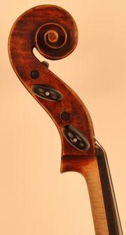 Cello Violoncello mit Zettel Testore