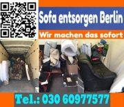 Sofa entsorgen Berlin sofort BSR-Express