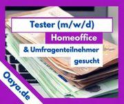 Produkttester gesucht Homeoffice