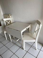 Ikea Tisch und Stühle Ingolf