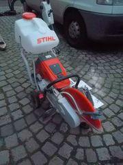 Stihl TS 800 mit Führungswagen