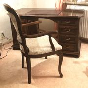 Schreibtisch mit Stuhl englischer antiker