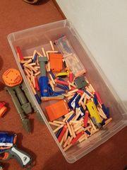 NERF Sammlung inkl Munition etc