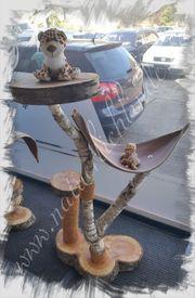 Naturkratzbaum Kratzbaum Katze Zubehör