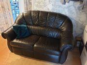 Schöner Büro-Couch Echtleder
