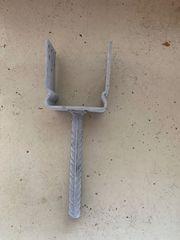 Schwere Stützenschuhe 101 mm Stahl