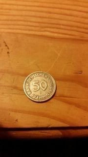 Münze 50 Pfennig