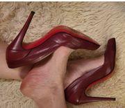 sehr schöne rote high heels