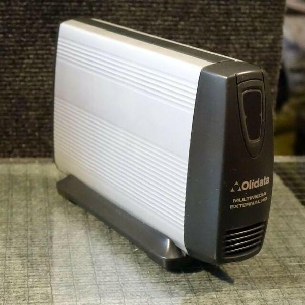 1 Multimedia external HD 500GB