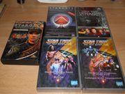 VHS Kassetten Star Trek Stargate