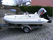 Rib Festrumpf Schlauchboot Yachtline 420