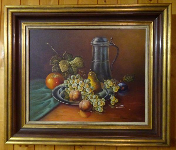 Otmar Widmann Stillleben mit Obst