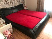 verkaufe Designer Bett