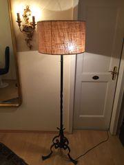Stehlampe Schmiedeeisen aus Lugano Schweiz
