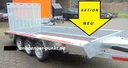 PKW Anhänger Tieflader Mini- Bagger