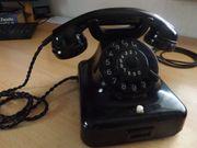 Altes Bakelit Post Telefon von