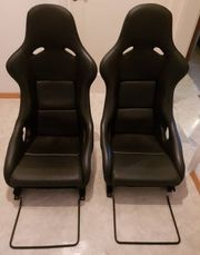 Recaro Pole Position Vollleder