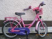 Fahrrad 16 rosa für Mädchen