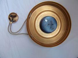 Uhren - kupferfarbene mechanische Wanduhr 25 cm