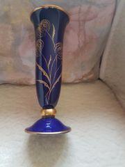 Blumenvase Kobaltblau