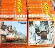 Eisenbahn Magazin Modellbahn Januar-Dezember 1987