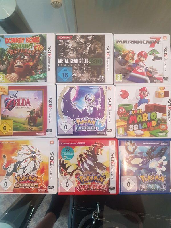 3ds Spiele Sammlung