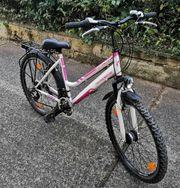 Jugendliche oder Frauen Fahrrad