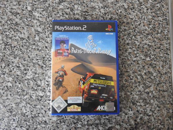 PS2 Spiel Paris-Dakar Rally