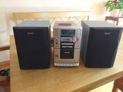 Kleine Philips Stereoanlage
