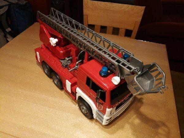 Autos & Lkw Blechspielzeug LKW Feuerwehr aus Blech 1:32 ca.18cm Nostalgie