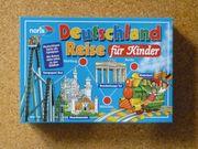 Spiel Deutschlandreise für Kinder von