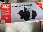 Gartenpumpe Pumpe Hauswasserautomat LED Hauswasserwerk