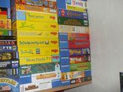 Diverse vollständige gut erhaltene Brettspiele