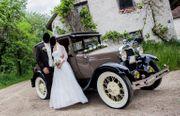 Hochzeitsauto Oldtimer NEU HD Drohnenfotos