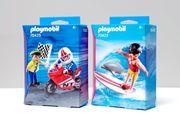 Playmobil Sets -Jungs mit Racingbike