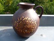 Handgetöpferte Vase Krug