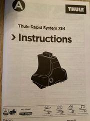 Thule Rapid System Kit 754