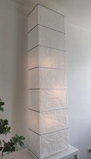 2 IKEA Rutbo Standleuchten Papier