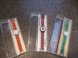 Uhren - Automatic-Uhren - 3 Stück- Swatch von