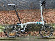 Brompton Faltrad H2LX - Titan - Black Edition
