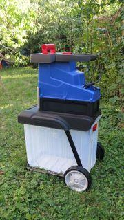 Elektro-Leisewalzenhäcksler Neu Zertifikat Blauer Engel
