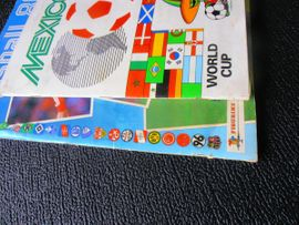 Sonstige Sammlungen - 6 Panini Fußballalben WM 1986