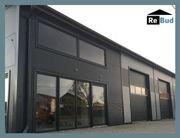 isolierte Stahlhalle Werkstatthalle Lagerhalle Produktionshalle